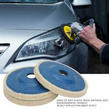 3pcs 100mm Wool Buffing Polishing Wheel Felt Pad 4'' Buffer Buff Polish Disc New