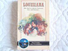 LOUISIANA VHS BIG BOX MARGOT KIDDER CIVIL WAR DEEP SOUTH GONE WITH THE WIND GWTW