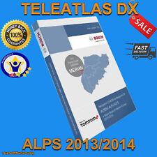 TELEATLAS DX ALPS 2014 ALPEN ALPI MERCEDES SAT NAV DISC NAVIGATION CD AUSTRIA SW
