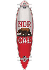 NorCal True Republic Longboard komplett