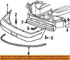 CHRYSLER OEM Rear Bumper-Cover Pin Retainer Rivet 4630253