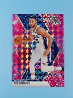 Ben Simmons 2019-20 Panini Mosaic Pink Camo Prizm #149 Philadelphia 76ers HOT📈