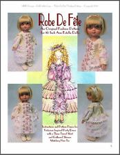 """Robe De Fête"" Fashion Pattern for 10 Inch Tonner  Ann Estelle and Patsy Dolls"