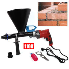 Mortar Gun 700W For Brick Pointing & Tile Grouting Cement Applicator Tool W/iler