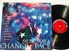 MUSIC FOR A CHANGE OF PACE (1965) Mono CSP LP w/Bennett/Hampton/Elgart...