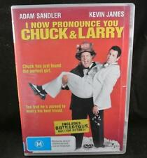 I NOW PRONOUNCE YOU CHUCK & LARRY - DVD Movie Aus R4 Like New Free Postage