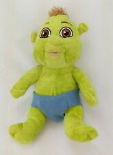 BUILD A BEAR Baby Ogre Farkle Shrek THE THIRD Plush Boy Doll Blue Diaper