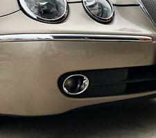 Jaguar S Type Chrome Front Fog Light Trim 2004 onwards
