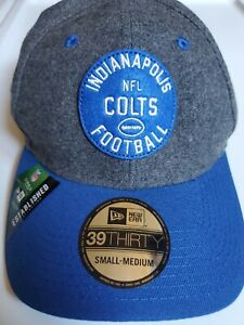 New Era 39Thirty NFL Indianapolis Colts Est. Collection On-Field Cap Size Sm-Md