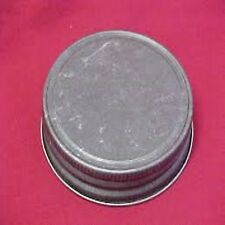 ANTIQUE PEWTER LIDS FOR STANDARD CANDLE MASON STYLE JAR G70 CT PACK OF 12 PCS