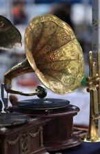 Collectible Victrola Old Quality Antique Home Décor Gramophone Phonograph HB 08