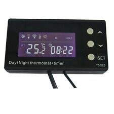 Controlador de Temperatura / Termostato Regulador para Acuario (TC-220)