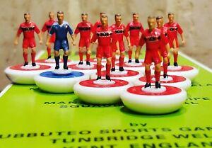 Belgium Home 1984 Subbuteo team Handpainted And Decals