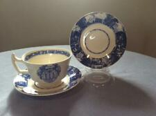 Wedgwood University of California Berkley Sather Gate cup and 2 saucers 1943