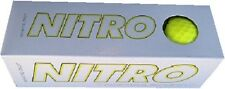 NEW – Nitro 2013 White Out golf balls- YELLOW (1 Sleeve; 3 Balls Total)