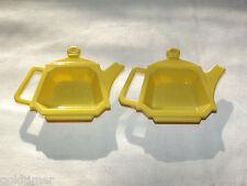 VINTAGE KITCHEN 1970-80S PLASTIC TEA BAG BAGGER TRIVET HOLDER