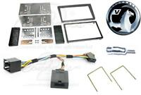 VAUXHALL VIVARO DOUBLE DIN STEREO FITTING KIT BLACK