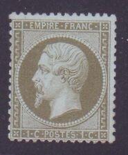 "FRANCE N°19 "" NAPOLEON III 1c OLIVE "" NEUF xx TB"