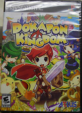 "Dokapon Kingdom PS2 (Sony PlayStation 2) Brand New Factory Sealed. ""Y"" fold."