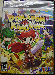 "Dokapon Kingdom PS2 (Sony PlayStation 2) Brand New Factory Sealed. ""Y"" fold."