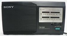 SONY ICF-24 FM/AM RADIO IN ORIGINAL BOX WITH INSTRUCTIONS MANUAL