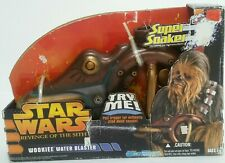 New Star Wars Revenge of the Sith Wookiee Water Blaster Super Soaker 2005 Rare