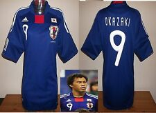 JAPAN Football shirt S.OKAZAKI LEICESTER Soccer jersey World Cup 2010 Large
