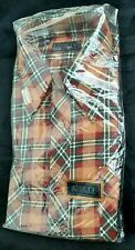 Vintage Attitude Flannel shirt - never used still in bag - 30% Cotton 30% poly