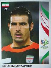 PANINI 265 Ebrahim Mirzapour IRAN fifa world cup 2006 GERMANY