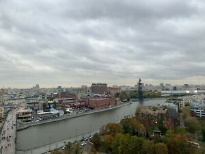 Photo Picture Russia Moscow River Red October Factory View