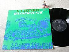 HÄNDEL Wassermusik VAN BEINUM CGOA 1971 DDR LP black-silver ETERNA 825133
