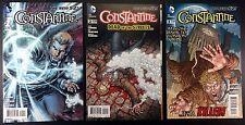 Constantine (2013) 1 2 3 VF/NM three issue run all 1st prints Jeff Lemire New 52
