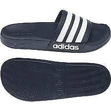 Adidas Adilette Aqua Dark Blue White Navy Men Women Slippers F35542 Size 8 and 9