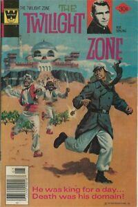 1977 Whitman Variant - Twilight Zone # 78 - Nice Condition