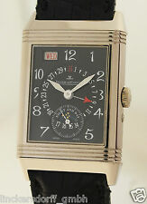 JAEGER LECOULTRE REVERSO MONDPHASE DAY DATE & NIGHT DAY GRAND TAILLE WEIßGOLD