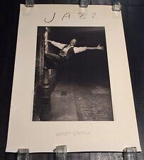 Vintage Geoff Stern Original Poster Large Print Jazz New York 1985