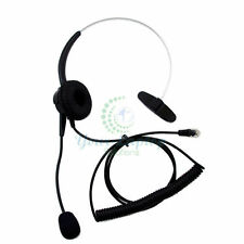 Headset for Avaya Norstar NEC Aspire Mitel Polycom Toshiba Hybrex ESI Aastra