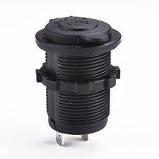 Hot 12V Ship Car Motor Cigarette Lighter Waterproof Socket Power Plug Outlet New