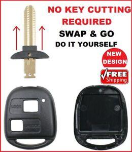 Remote Car key shell Suitable for Toyota Prado Avensis Corolla Rav Kluger Tarago