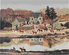 """Michel Delacroix       """"La Sortie du Chenil""""      Lithograph on Paper"""