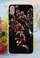 Michael Jordan Basketball NBA Bulls Hard Cover Case For iPhone Huawei Galaxy 9