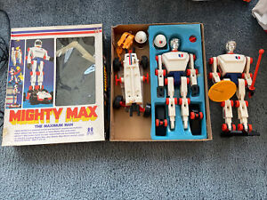 1976 Tomy Mighty Max The Maximum Man w/extra parts