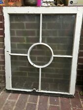 2 - 33 x 28 Vintage Original Window Sash Old 5 pane from 1940-1950 Mid Century
