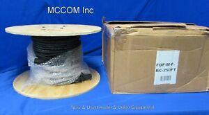 Nemal Panasonic SMPTE 311 Fiber Camera Cable 250ft FOF-M-F-BC250ft New Lemo Con