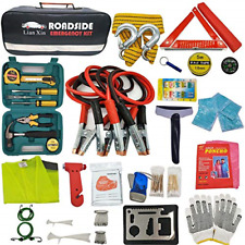 Roadside Assistance Emergency Kit - Multipurpose Emergency Pack Car Premium Road