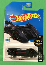 HOT WHEELS 2017 SUPER TREASURE HUNT SET BREAK BATMAN  BATMOBILE BATMAN 5/5