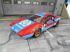 FERRARI 308 GTB Rallye Pioneer #4 Andruet Tour de Corse 1982 Otto RAR 1:18