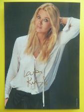 Laura Karasek - Autogrammkarte
