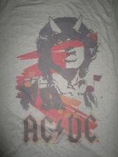 2005 Repro AC/ DC (LG) T-Shirt ANGUS YOUNG w/ Horns