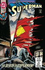 DC DOLLAR COMICS DEATH OF SUPERMAN #75 - BAGGED & BOARDED. FREE UK P+P
